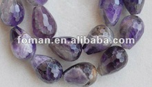 13x18mm faceted teardrop aemthyst beads