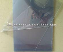 high transparency No fish eye rigid clear 1mm pvc sheet