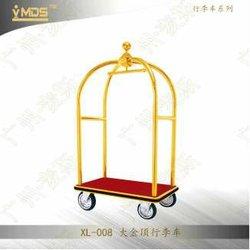 Used Hotel luggage carts trolley,concierge birdcage trolley luggage cart for hotel