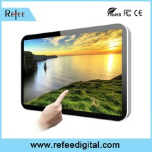 Full HD wall mounted lcd advertising display / advertising products