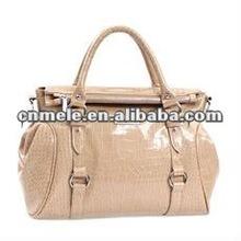 Guangzhou factory promotional woman handbag with handle 2015
