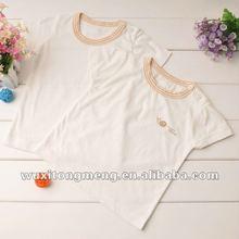 Lively plain white t-shirts for girls children
