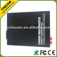 10/100/1000TX To 1000LX Media Converters Fiber to Copper, Single-Mode 40km, SC Connector,Aifon, ethernet video