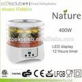 intelligent alimentos secador com 12 temporizador ajustável led display