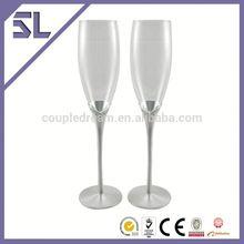 Decorative Simple Design Graceful Style Wedding Set Glass Wholesale Wedding Knife Set