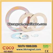 magnet audio component for subwoofer loudspeaker