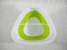unique design food grade folding plastic basket