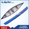 Caliente de la venta 4.8 m plástico canoa 4 de madera asientos canoa