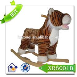 Fashion style hot sale riding pony toys/baby rocking horse/wooden rocking horse toy