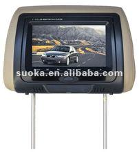 7 inch Headrest LCD monitorwith IR FM DVD