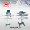 plastic impulse bag pedal sealer