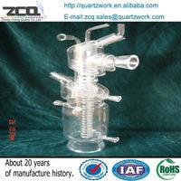 OEM Service/customize Quartz Glass Chemistry Laboratory Apparatus/Labware