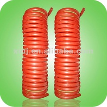 color custom high quality Coiled pvc tube stretch hose