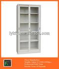 KFY-CB-15 Office Sliding Door Float Glass Cabinet With 4 Shelves