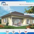 Casa de marco de acero ligero de bajo coste prefabricadas