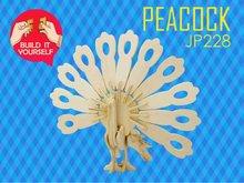 großhandel 3d diy holzpuzzle pädagogisches spielzeug für kinder