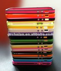 Wholesale Colorful TPU Bumper case for iphone 5""