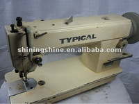second hand synchronous compound feed jute bag industrial sewing Machine