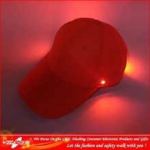 Decorative LED Christmas 100% Cotton 6 Panel Child Hat