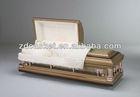 Steel bronze casket