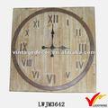 rustique en bois maison de campagne français horloge décoration