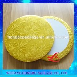 square white corrugated cake drum board