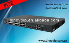 high-quality 24 Gigabit port managed POE switch