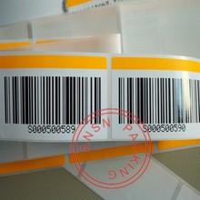 Code à barres étiquette et étiquette de transfert thermique