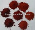 polvere di ossido di ferro rosso