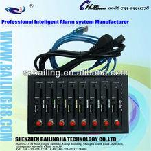 Bulk sms sending multi chip 8 port gsm modem pool support IMEI change