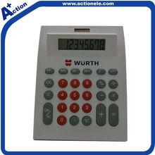 8 Digital Desktop Office Solar Calculator