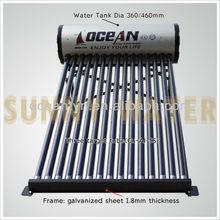 Popular Designed Solar Water Heaters, black bracket solar wate heater