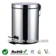 3L,5L,8L,12L,20L,30L Commercial Elegant Stainless Steel Foot Pedal Trash Bins