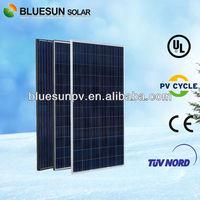 High Efficiency poly 300W best price per watt solar panels in india