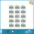 Hochwertige hitzebeständig etiketten aufkleber, selbstklebende etikett, klebstoff textiletiketten