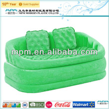 2014 fashion comfortable plastic pvc inflatable sofa