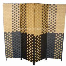 decorative wholesale handmade woven cheap make folding screen room divider