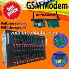Hot sale 32 channels sim slot GSM modem for bulk sms bulk sms software recharge