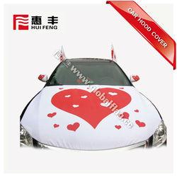 Custom Car Hood Cover For Advertising