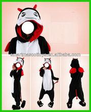 adult onesie animal pyjamas unisex devil sleepwear