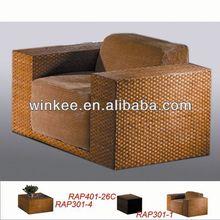 Popular indoor rattan sofa for sale