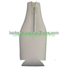 Integrated zipper cup holder stubby holder