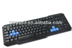 2013 new wired standard computer keyboard