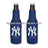 High-quality Neoprene Zip Up Beer Bottle Cooler
