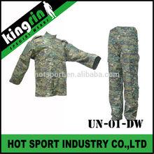 KINGRIN Combat Airsoft gear Paintball Battle Dress Uniform Woodland Marpat Camo ACU tactical digital army uniform