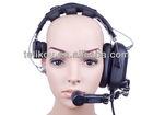 30% off HD-201 Noise Cancellation Single Ear intercom headset