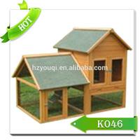 Wooden pet cage,rabbit wood house,rabbit kennel design
