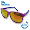 2013-2014 Chinese Two-tone Rubber Finished Fashion Sunglasses With BSCI Factory Audit