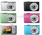 15 MP digital camera + 2.4'' TFT display + 8x digital zoom + anti shake + face detection + sd card slot + lithium battery