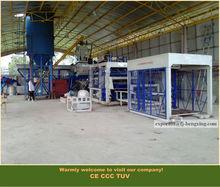 Automatic Floor Tile Brick Machine Hydraulic Press Concrete cement Block Making Machine (HQTY9-15)